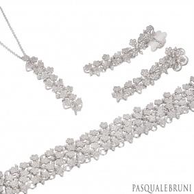 Pasquale Bruni White Gold Diamond Prato Fiorito Suite